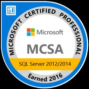 Logo Microsoft Certified Professional, Walter Putz  SQL Solutions