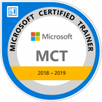 Logo Microsoft Certified Trainer 2018-2020, Walter Putz | SQL Solutions