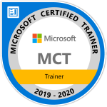 Logo Microsoft Certified Trainer 2019-2020, Walter Putz | SQL Solutions