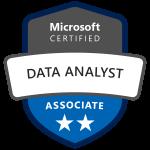 Logo Microsoft Data Analyst, Walter Putz
